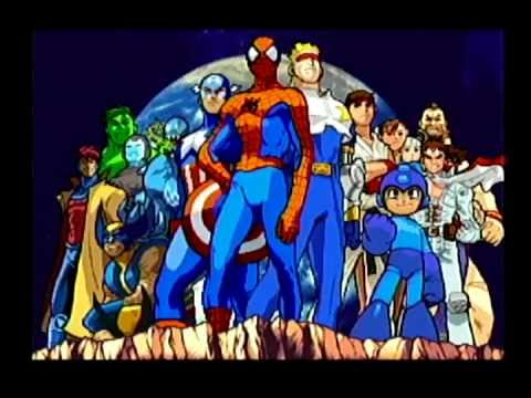Marvel VS. Capcom - Game Intro [Dreamcast] - YouTube