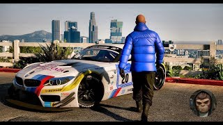 ►GTA 6 Graphics - BMW Z4 GT3 Gameplay! 2018 🔥BEST Graphics ✪ MOD - PC 60FPS GTA V MOD