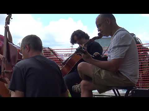 Jamming at the 2017 Lyons Fiddle Festival