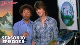 Bob Ross - Mountain Oval (Season 10 Episode 9)