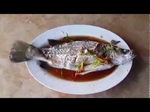 ปลากะพงนึ่งซีอิ๊วตัวนี้ สดมั่กๆ