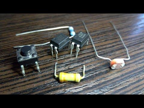 Оптопара PC817 и Arduino Nano
