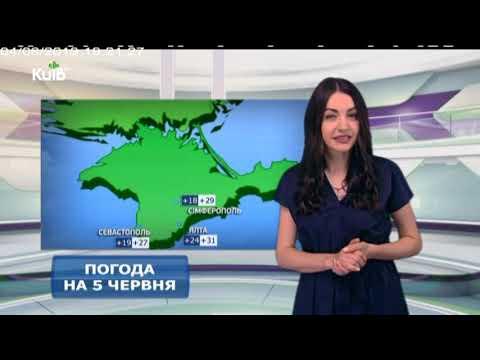 Телеканал Київ: Погода на 05.06.19