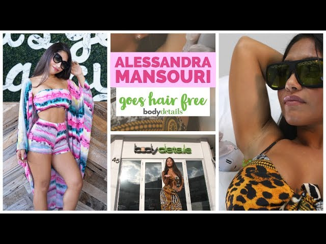 Go Hair Free For Life | Laser Hair Removal Miami | Alessandra Mansouri | Body Details