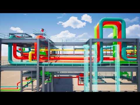 Open Design Power Industry Pipe Rack