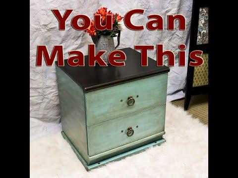 DIY Chalk Paint Basics pt. 2 & How to Glaze Furniture