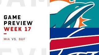 Miami Dolphins vs. Buffalo Bills | Week 17 Game Preview | Around the NFL