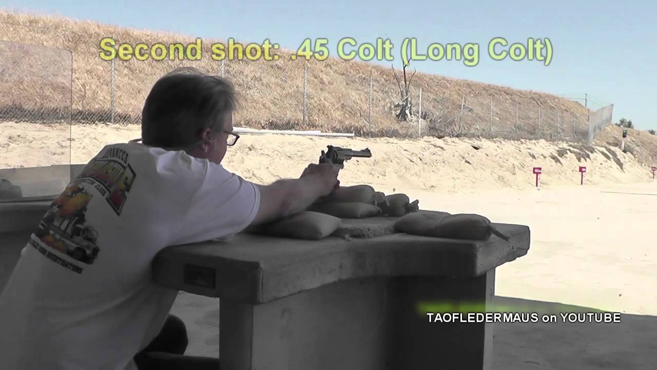 The  454 Casull Revolver Cartridge