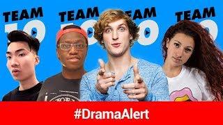 Logan Paul ON PROBATION! #DramaAlert RiceGum VS Bhad Bhabie, Deji ROASTS Team 10