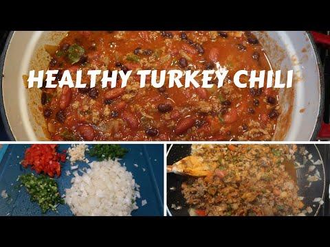 how-to-make-homemade-turkey-chili-|-easy-healthy-recipes