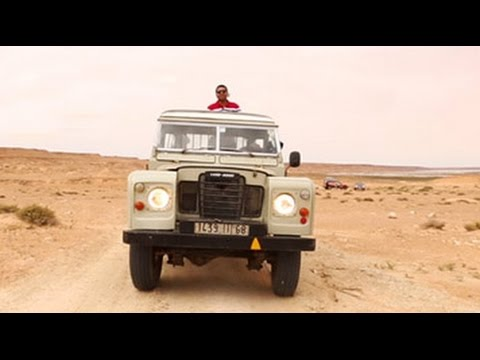 #GLAadventure's unique Land Rover experience in Western Sahara