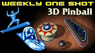 Weekly One Shot: 3D Space Cadet Pinball