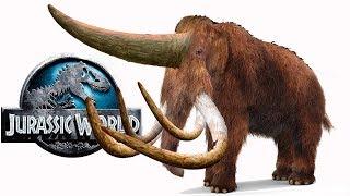 МАММОТЕРИУМ новый кайнозойский гибрид. Призрак на арене Jurassic World The Game на русском