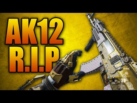 Advanced Warfare Elite Weapons Ep. 1 - AK12 R.I.P. (Call of Duty AW Best Multiplayer Gun Variant)