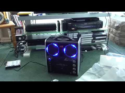 singing machine karaoke system setup and operation part 2