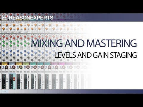 Learn how to mix in Reason part 2 | Levels and Gain Staging| ReasonExperts