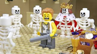 Lego Skeleton Attack - The Homeless