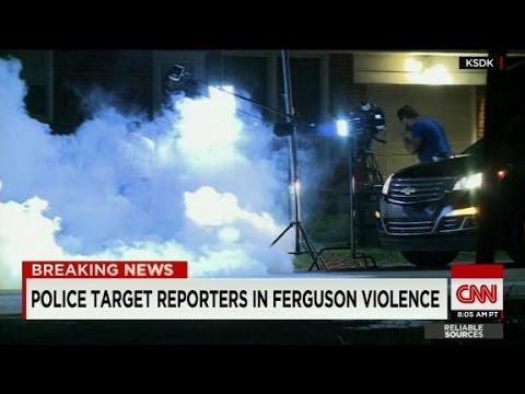Al Jazeera America crew targetted by police