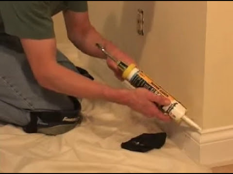 How To Install Baseboard Doovi