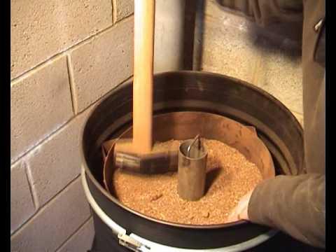 Sawdust Stove