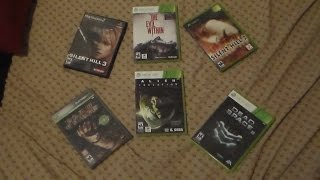 MY SURVIVAL HORROR GAME COLLECTION