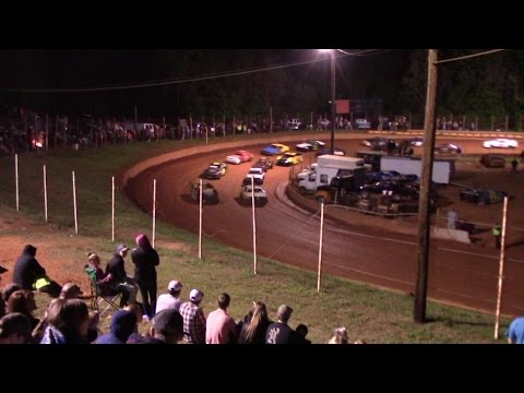 Winder Barrow Speedway Stock Four Cylinders Race 4/16/16