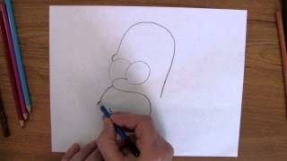 How To Draw: Homer Simpson