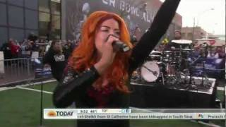 Gym Class Heroes feat. Neon Hitch - Ass Back Home (Live on Today 02-03-2012) [HD 1080p]