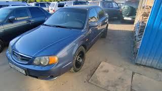 KIA Shuma 2003 года, пробег 245 000 км, обзор автомобиля в Альянс Select.  Чебоксары.
