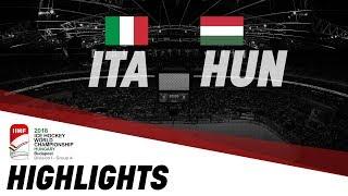 Italy - Hungary   Highlights   2018 IIHF Ice Hockey World Championship Division I Group A