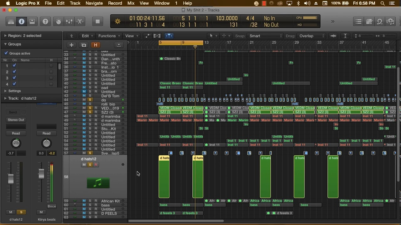"Afropop Instrumental 2020 Logic Pro X Breakdown ""Am Sorry"" (How To Afropop)"