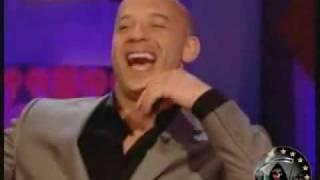 Vin Diesel Interview (ending is 2 damn funny)
