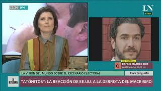 La reacción de Trump ante la derrota de Macri en las PASO