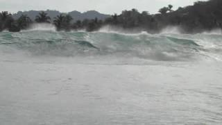 Rogue wave in Sayulita, Mexico