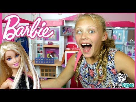 NEW Barbie Hello Dreamhouse FULL HOUSE TOUR & Unboxing