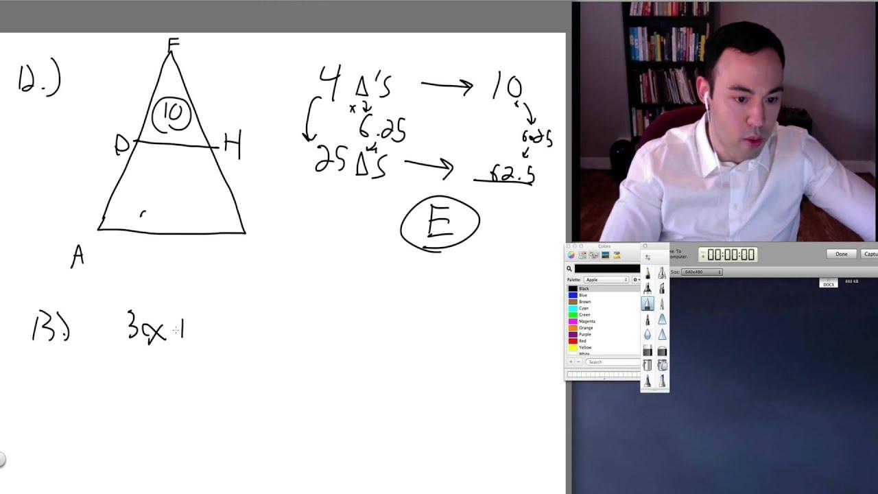 Sat Math Practice Test