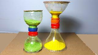 Pet Şişeden Kum Saati Nasıl Yapılır