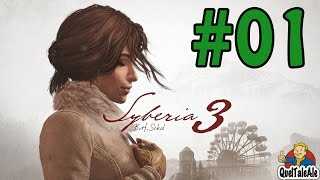Syberia 3 - Gameplay ITA - Walkthrough #01 - Una clinica inquietante