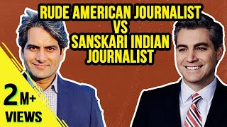 Rude American Vs Sanskari Indian Journalists! -  Ep54 #TheDeshBhakt