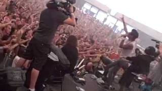 The Bloody Beetroots Feat. Justin Pearson - Warp 1977 ( Live @ Australia 2009 )