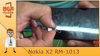 Nokia X2 RM-1013 не включается(В сегодняшнем видосе попытаемся восстановить Nokia X2 RM-1013. К чему это привело смотрите в видосе. Попытка подце..., 2016-08-13T08:03:44.000Z)