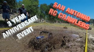 San Antonio RC Crawlers 3rd Anniversary Event at GSL Ranch Tex…