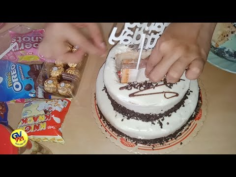 Easy way to make a money cake with $100