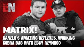 MATRIX! Canelo's Amazing Refle…