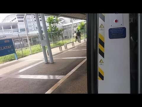 [Emergency Brake] KTM Class 92 EMU Komuter Train Ride From Serdang To KL Sentral