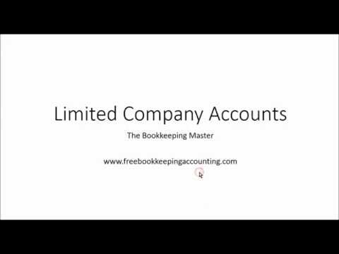 Limited Company Accounts   Preparing and Understanding - Ltd