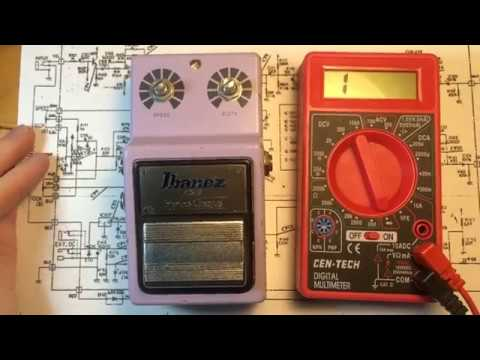 Ibanez CS9 Chorus Troubleshooting and Repair