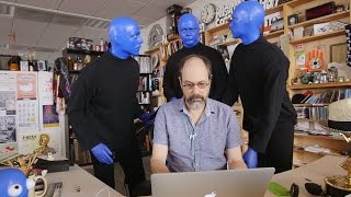 Blue Man Group Is Coming To The Tiny Desk!