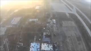 Видео с беспилотника Как сегодня выглядит донецкий аэропорт. Украина новости.