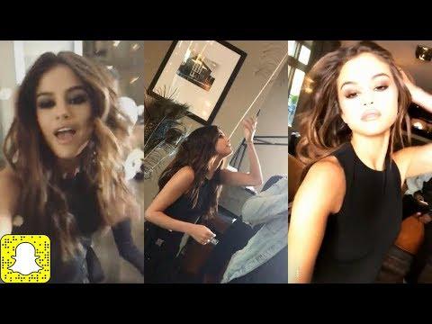 Selena Gomez Vine Funny Snapchat and cute Fail moments thumbnail